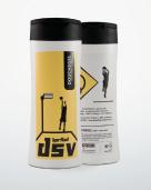 Douchegel/shampoo (2-in-1) met logo: € 4,75.