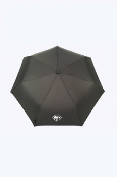 Paraplu 120 cm. met logo: €17,50.